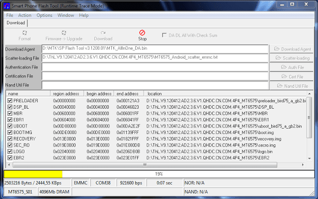Download will start on your Colors X22 flash file