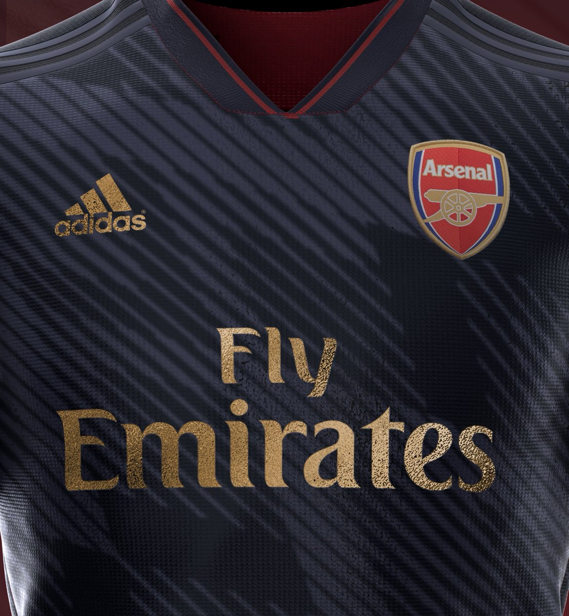 5c0d20b03 Stunning Adidas Arsenal 19-20 Home, Away & Third Kit Concepts by  Rupertgraphic