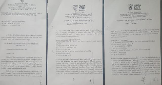 EXCLUSIVO!!!! A Central de Inquérito do Judiciário e a Polícia escancaram a fraude do concurso de Paço do Lumiar