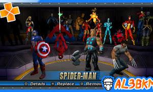 تحميل لعبة Marvel Ultimate Alliance 2 psp iso مضغوطة لمحاكي ppsspp