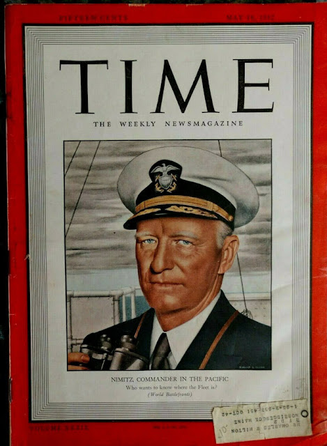 Nimitz on the cover of Time, 15 May 1942 worldwartwo.filminspector.com