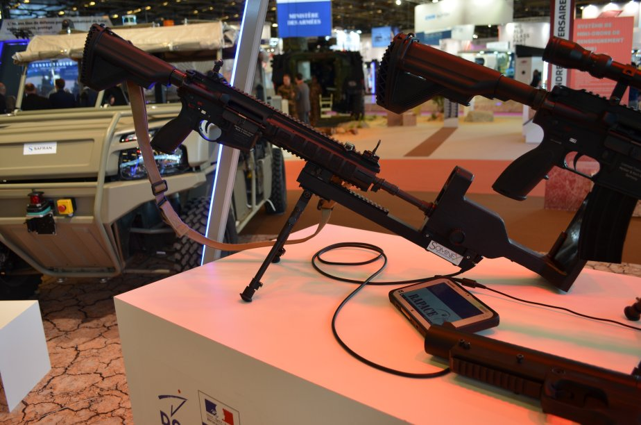 eurosatory 2018 with rapace french defence procurement agency