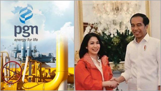 Politikus PSI Stafsus Jokowi Jadi Komisaris PGN
