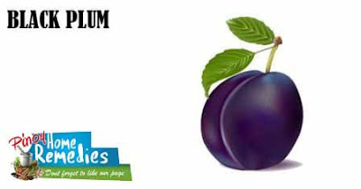 Home Remedies for Diabetes: Black Plum