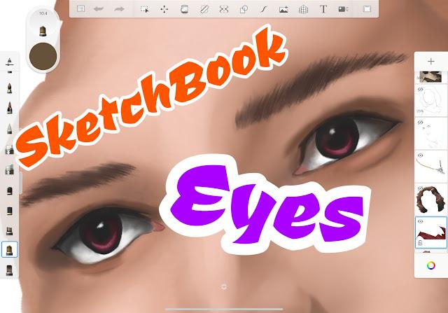 How to Color Eyes in Autodesk SketchBook