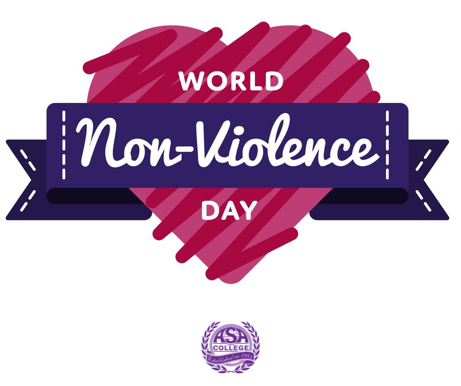 International Day of Non-Violence Wishes Beautiful Image