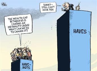 Haves/Have Nots cartoon