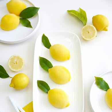 Lemon Shaped Mousse Recipe