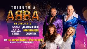 TRIBUTO ABBA por Super Troupers en Astor Plaza Bogotá