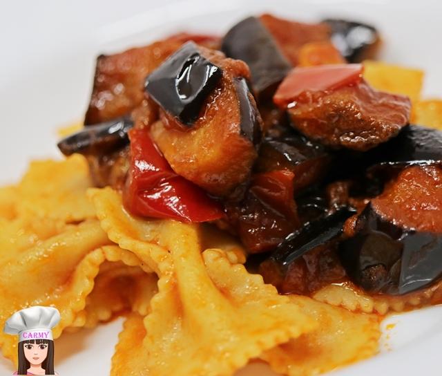 pasta-melanzane-peperoni