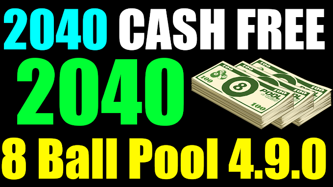 2040 8 ball pool cash free giveaway subcribe channel and click on bell to join