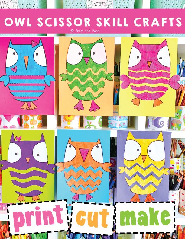 owl scissor skills