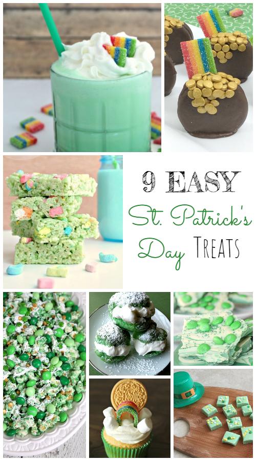 9 Easy St. Patrick's Day Treats to Make