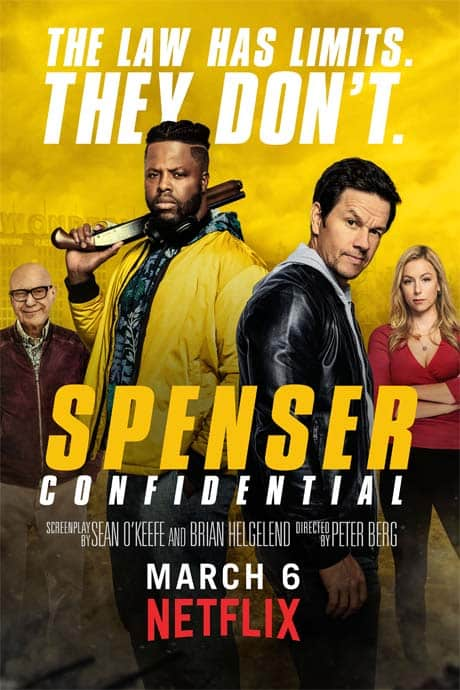 Spenser Confidential 2020 720p HEVC WEB-HDRip Dual Audio Hindi  – 550 MB