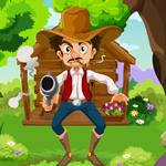 Games4King - Cowboy Rescue Escape