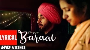 BARAAT LYRICS CHANPREET | RANJHA YAAR