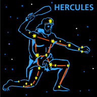 Microsoft Clip Art of the Hercules constellation