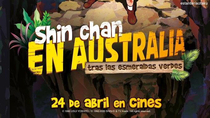 Shin Chan en Australia se estrenará en cines