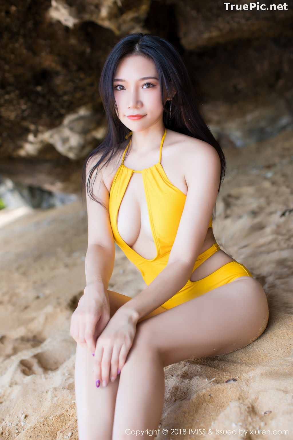 Image IMISS Vol.227 - Chinese Model Xiao Hu Li (小狐狸Sica) - Bikini On the Beach - TruePic.net - Picture-3