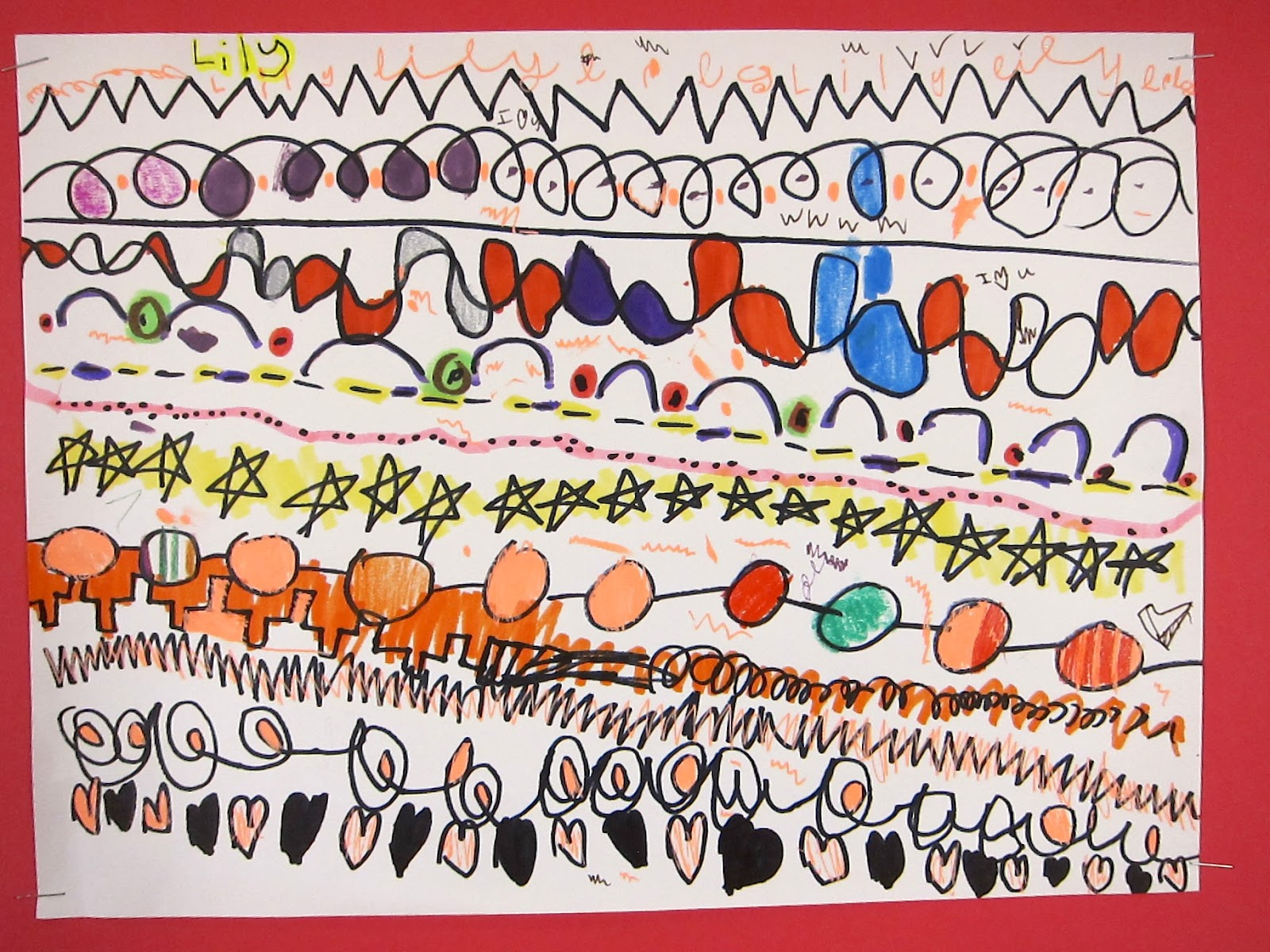 Art Is Basic Art Teacher Blog Kindergarten Line Drawings
