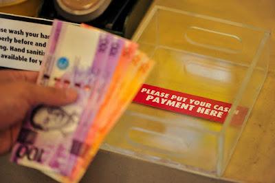 Mang Inasal Cash Payment