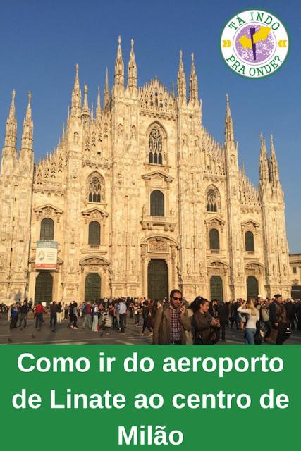 Como ir do aeroporto de Linate para o centro de Milão?