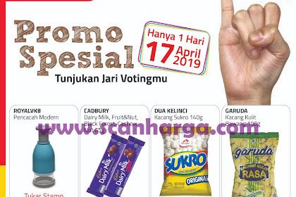 Promo Alfamart Spesial Pilpres Pemilu 17 April 2019