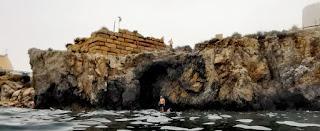 La isla de Tabarca, Cala del Birros y la Guardia.
