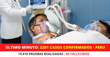 Última Minuto Coronavirus en Perú