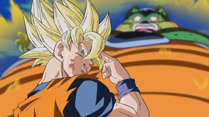 Sacrifio de Goku en Dragon Ball Z