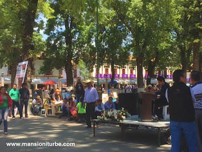 Concierto al Aire Libre en la Plaza Vasco de Quiroga en Pátzcuaro