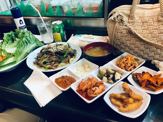 Set of Korean BBQ