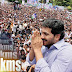 YS Jagan Crosses 500-Km-Mark