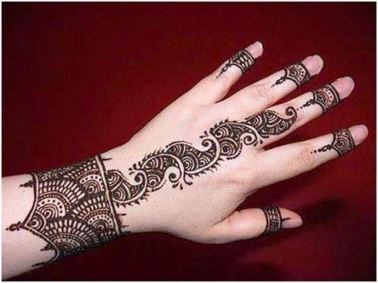 Stylish Unique Mehndi Designs: Stylish Mehndi Designs : Easy To Draw Mehndi Designs