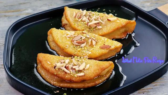 Malai malpua recipe at home | Instant malai puri recipe