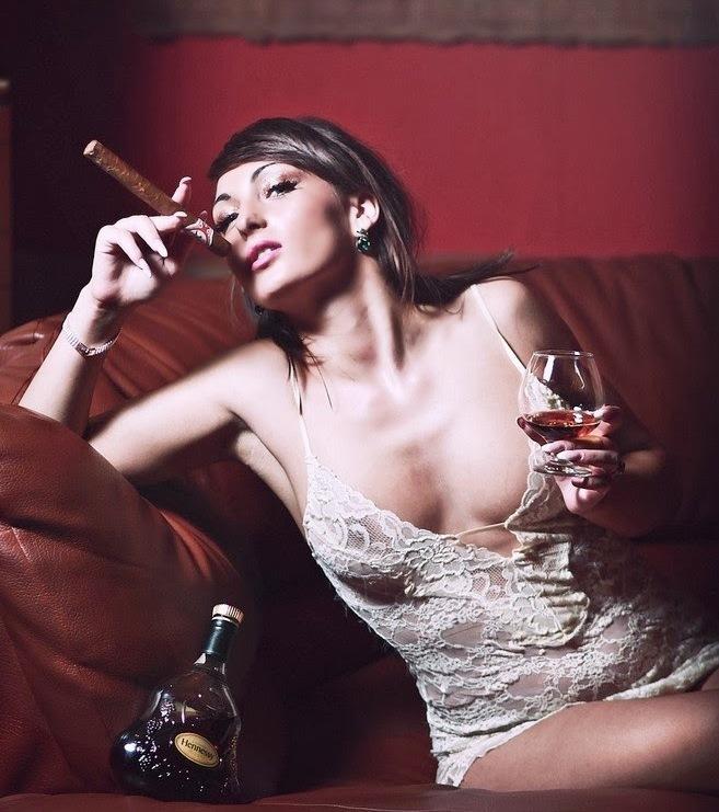 Intro To Nude Cigar Smoking