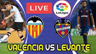 Valencia vs. Levante en VIVO ONLINE por La Liga