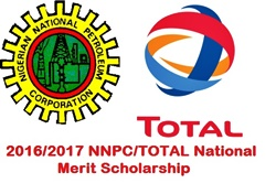 NNPC/TOTAL National Merit Scholarship 2016/2017 – Apply Now!