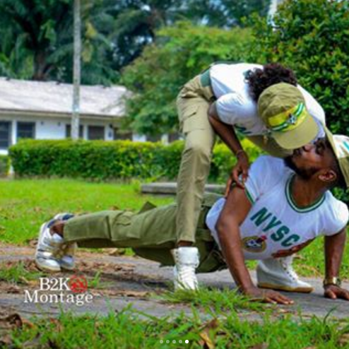 33 - Beautiful pre-wedding photos of couple who met during NYSC