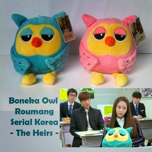 Boneka lucu di film The Heirs