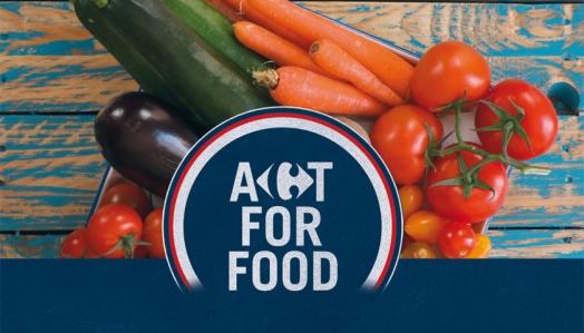 Carrefour avança com Movimento Act For Food e lança serviços para democratizar o acesso à alimentação saudável no Brasil