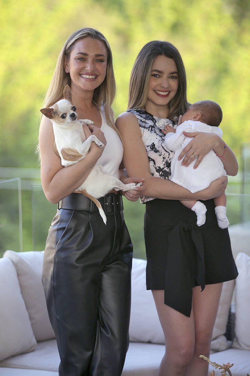Daniela Nicolás volvió a Santiago para cuidar a su hermana