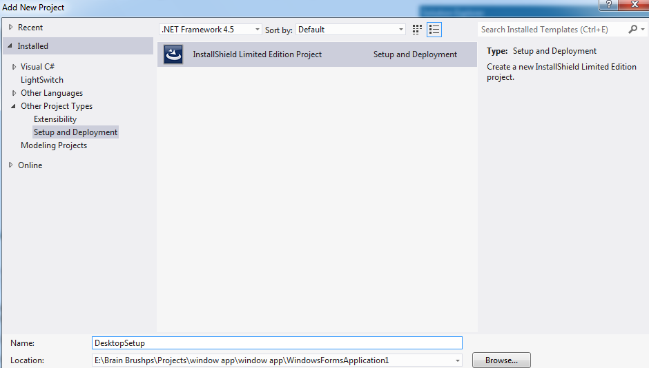 Download Best Installshield Limited Edition For Visual Studio Free