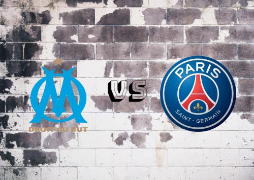 Olympique Marseille vs PSG  Resumen y Partido Completo
