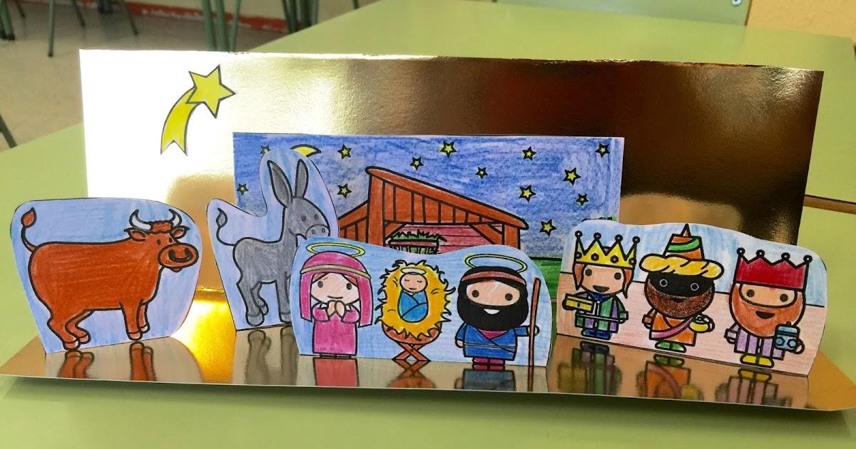 Manualidades Y Navidad Portal De Belén Para Niños