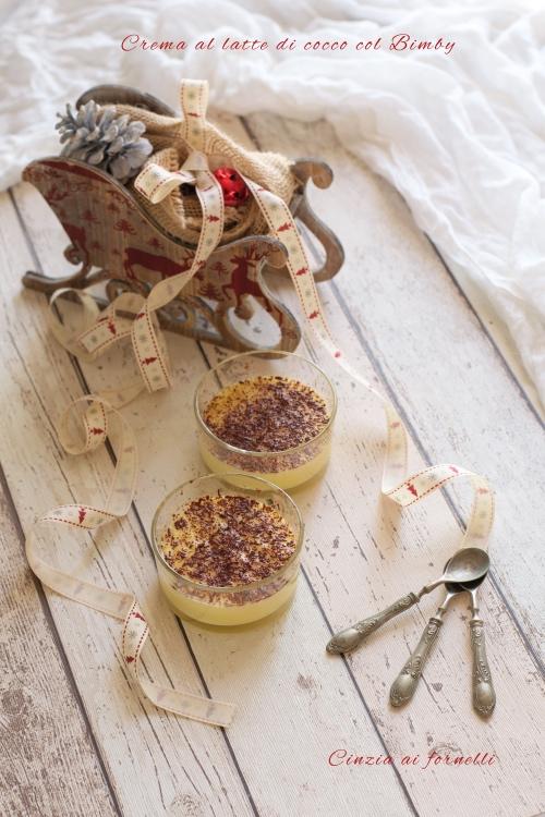 Crema di latte di cocco col Bimby
