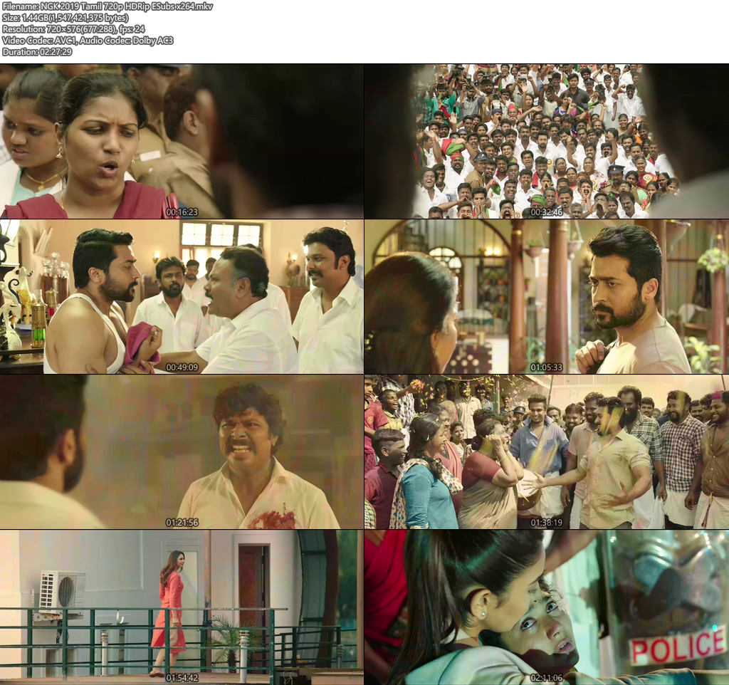 NGK 2019 Tamil 720p HDRip ESubs x264 | 480p 300MB | 100MB HEVC Screenshot