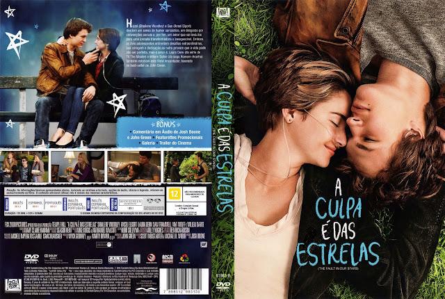 Capa DVD A Culpa é das Estrelas