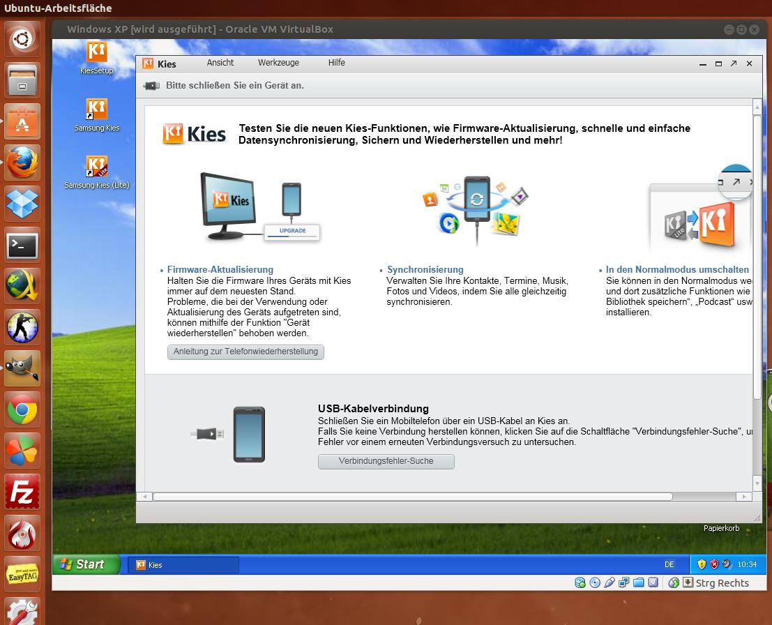 Kies For Ubuntu - linoapaint