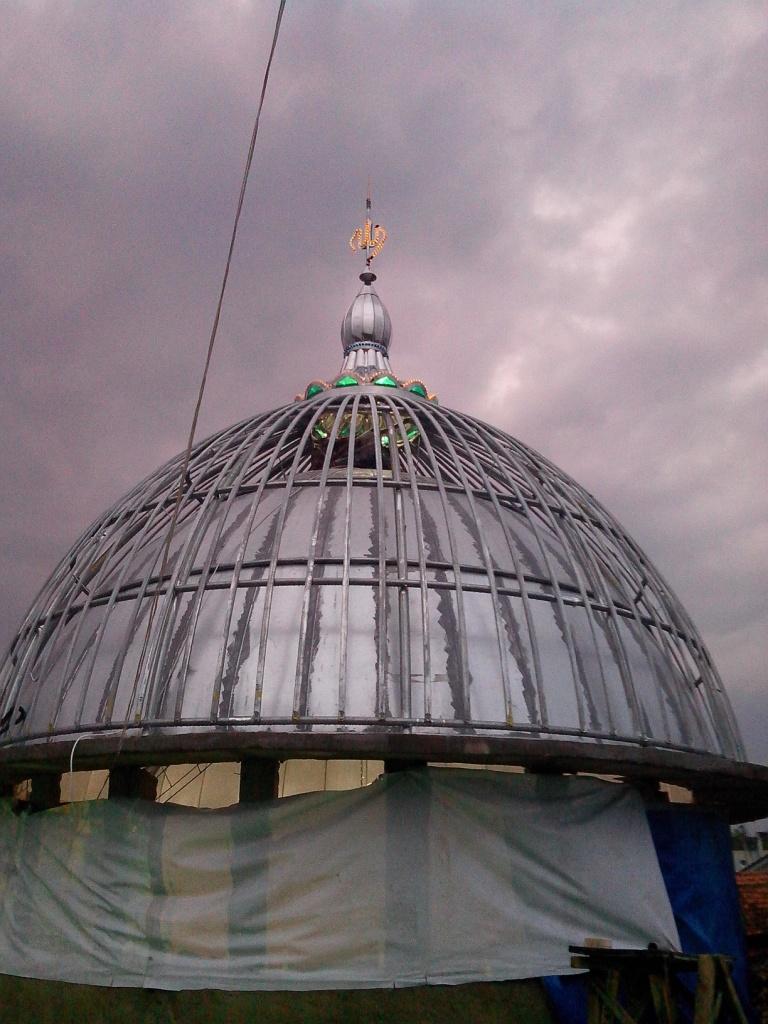 gambar kubah enamel foto kubah masjid